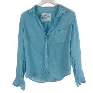Frank & Eileen Blue Long Sleeve Button Down Shirt